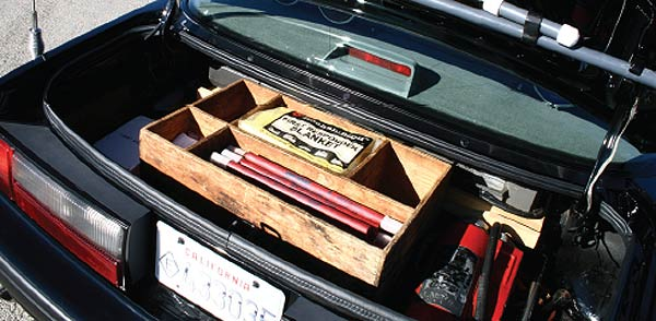 Mustang Special Service Package trunk